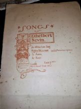 ANTIQUE SHEET MUSIC 1901 LOW VOICE & PIANO MIGHTY LIKE A ROSE ETHELBERT NEVIN
